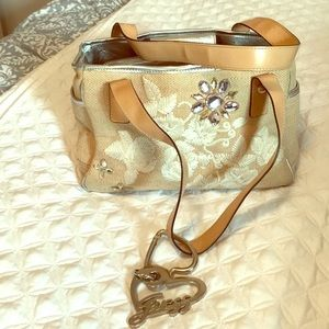 Guess Bag.  Beautiful Embroidered
